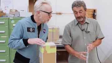 Adam Savage Tours Smithsonian Exhibits' Fabrication Shop!