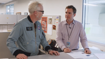 Adam Savage Meets a Smithsonian Exhibit Developer!