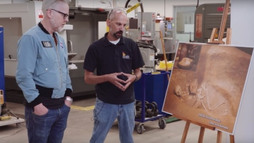 Adam Savage Sees How Smithsonian Uses Replicas to Tell Stories