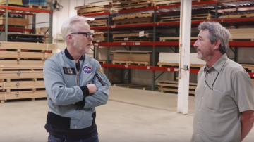 Adam Savage Learns About Smithsonian Exhibits' Installation Process!