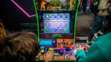 Arcade 1-Up's 3/4 Scale Gaming Cabinets