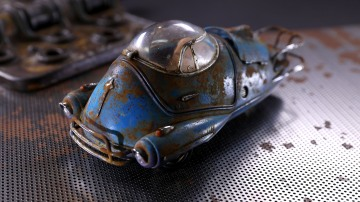 Model Behavior: Rusted Fallout Fusion Flea!