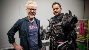 Adam Savage Examines SKS Props' Foam Armor!