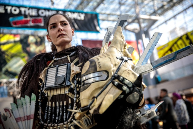 Felicia Neely Shows Adam Savage Her Enfys Nest Costume!