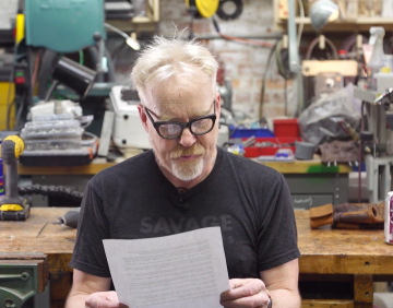 Ask Adam: Regrets About Destroying MythBusters Props