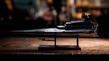 Model Behavior: Bandai 1/5000 Star Destroyer, Part 2