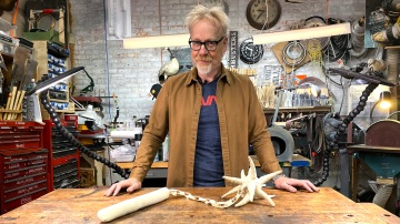 Adam Savage's Soft Flail Sculpture!