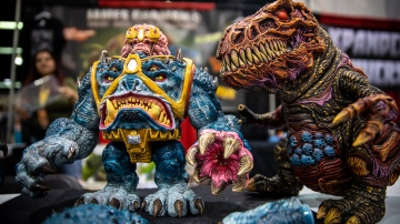 The Monstrous Kaiju Sculptures of James Groman!