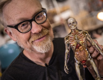 Inside Adam Savage's Cave: Human Anatomy Model!