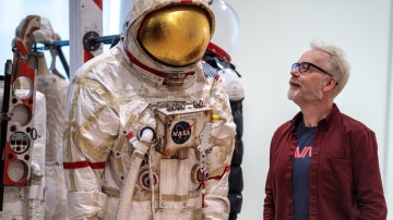 Adam Savage Tours SFMOMA's 'Far Out' Exhibit!