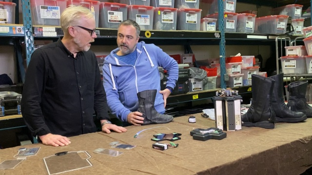 Adam Savage Learns Simple Tricks From The Expanse's Prop Master!
