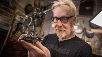 Inside Adam Savage's Cave: Modelmaking Inspiration from Weta Workshop!