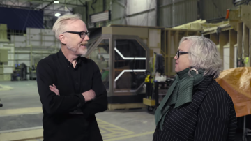 Adam Savage Talks Costumes on the Expanse Set!