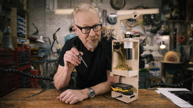 Adam Savage's One Day Builds: Portable Soldering Station!