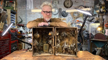 "Adam Savage's ""Keys to Hell"" Sculpture!"