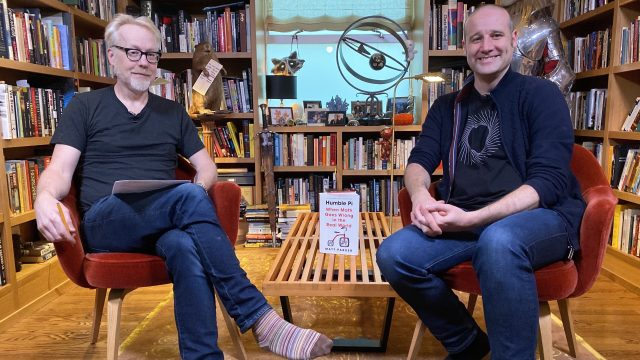 Adam Savage Book Club: Humble Pi: When Math Goes Wrong in the Real World