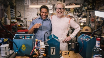 Adam Savage's One Day Builds: Refridgerated Cooling Suit!