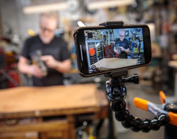 How Adam Savage Is Filming Himself in Self-Isolation