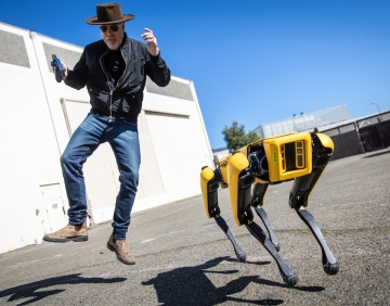 Adam Savage Explains How Boston Dynamics' Spot Robot Works!