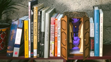 Designing a Book Nook Laser-Cut Kit!