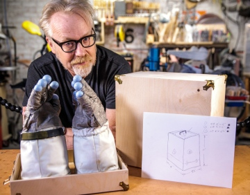 Adam Savage's One Day Builds: How To Build a Box!