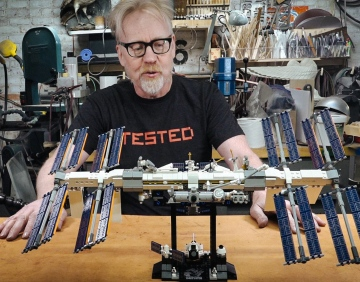 Adam Savage's One Day Builds: LEGO International Space Station!