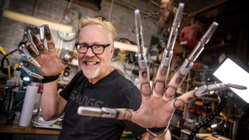 Inside Adam Savage's Cave: 3D-Printed Mechanical Claws