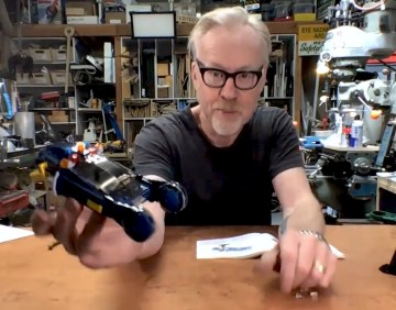 Adam Savage's Live Builds: LEGO Blade Runner Spinner!