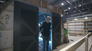 Adam Savage Explains How TV Spaceship Doors Work