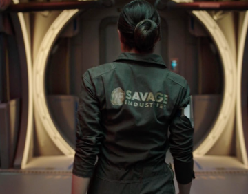 Adam Savage Receives a Gift from The Expanse Production!
