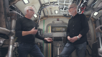 Adam Savage Interviews Expanse Production Designer Tony Ianni