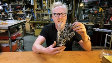 Adam Savage's Sculpture of a Mechanical Hand!