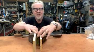 Adam Savage's Live Builds: Weathering Prop Money!