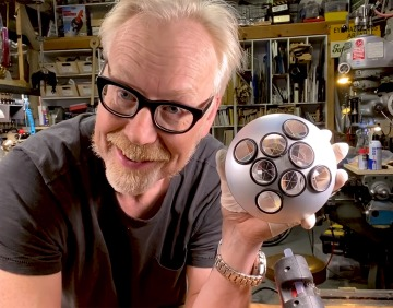 Adam Savage's One Day Builds: NASA Retro-Reflector Replica!