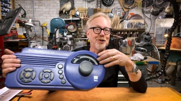Adam Savage's Giant Music Player Prop!