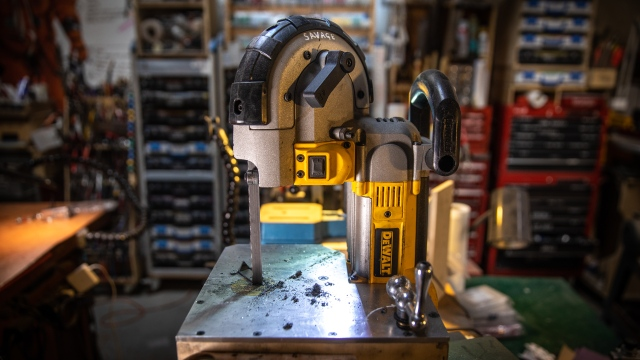 Adam Savage's One Day Builds: Mini Tabletop Bandsaw!