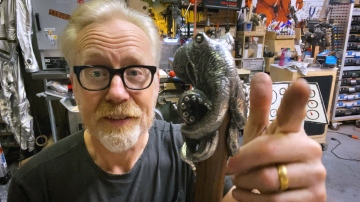 Adam Savage's Octopus Cane!