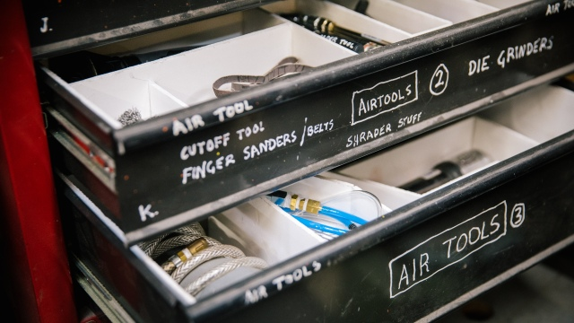 Adam Savage's One Day Builds: Air Tools Sorting Boxes!