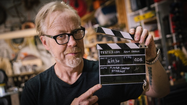 Adam Savage's One Day Builds: Workshop Filming Slate!