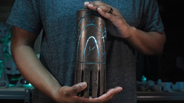 3D-Printing King Atlan's Artifact Prop from Aquaman!