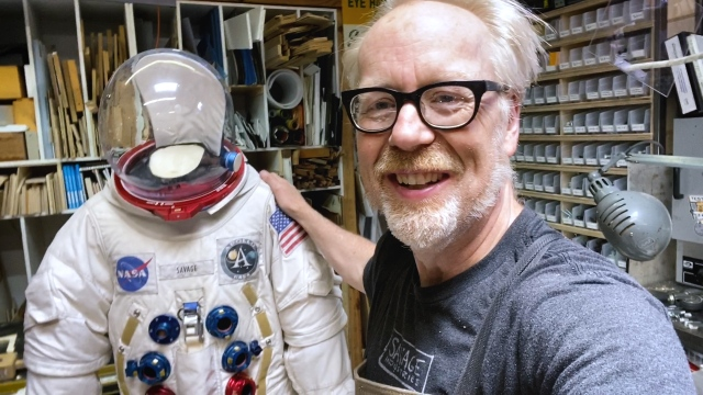 Adam Savage's One Day Builds: Spacesuit Display Stand!