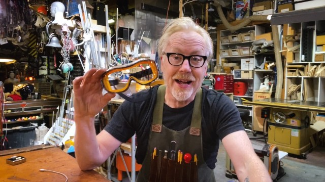 Adam Savage's Favorite Tools: Safety Goggles!