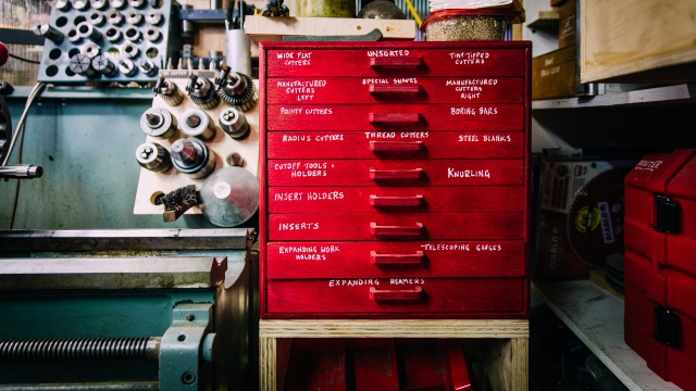 Adam Savage's One Day Builds: Machinist Tool Drawers!