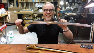 Adam Savage's Kill Bill Bride Sword Replica!