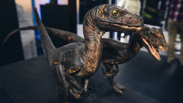 Stop-Motion Puppets from Star Wars, RoboCop, and Jurassic Park!