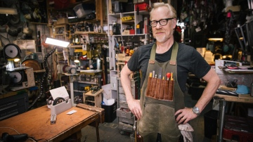 Adam Savage's One Day Builds: Custom Workshop Apron!