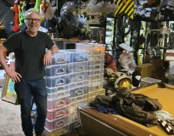 Adam Savage Finishes Sorting His LEGO Collection!