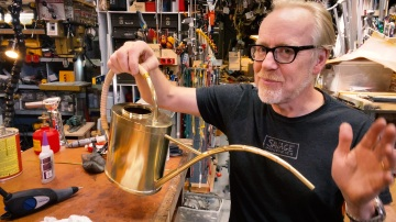 Adam Savage's One Day Builds: Brass Watering Can!