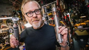 Adam Savage's Very First Lightsaber Prop Replica!