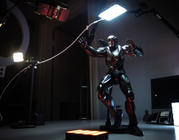 Lighting Setup for 1/6 Scale Figure Photography!